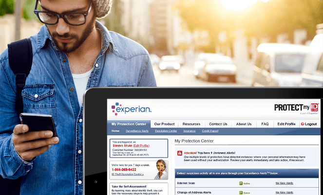 Experian IdentityWorks Banner