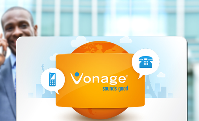 Vonage Phone Services Banner